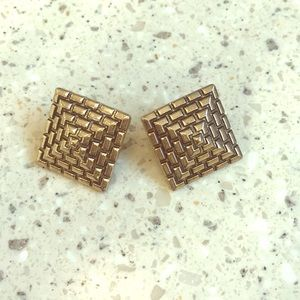 Earrings in gold by Forever 21 (NWOT)